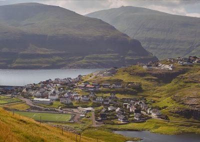 Bygden Eidi - rejser til Færøerne