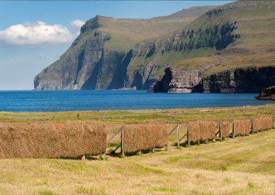 Kysten ved Eidi - rejser til Færøerne