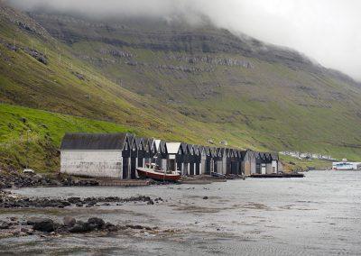 Bordoy bådhuse på Færøerne
