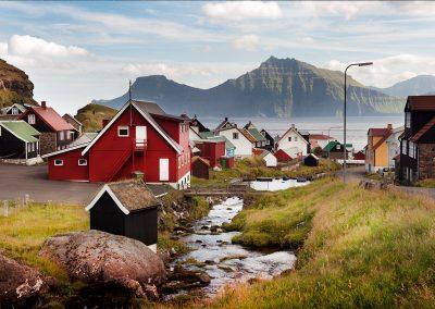 Gjogv bygd - rejser til Færøerne