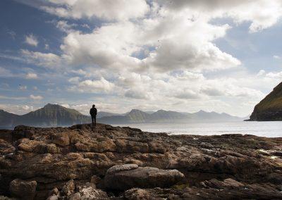 Fjorden ved Gjogv - rejser til Færøerne