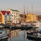 Havnen i Torshavn på Færøerne