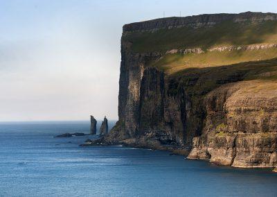 Kæmpen og Kællingen - rejser til Færøerne