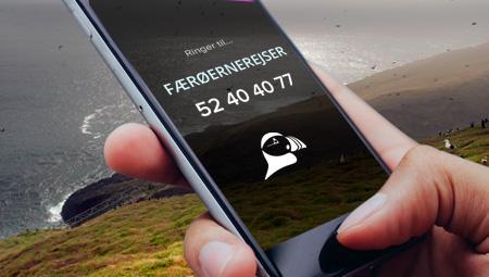 Kontakt FÆRØERNEREJSER vedr. rejser til Færøerne