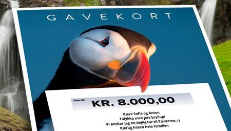 Rejsebureau til Færøerne og gavekort