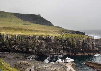 Mykines bådhavn - kør-selv ferie og grupperejser på Færøerne
