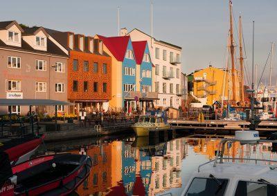 Den hyggelige havn i Torshavn