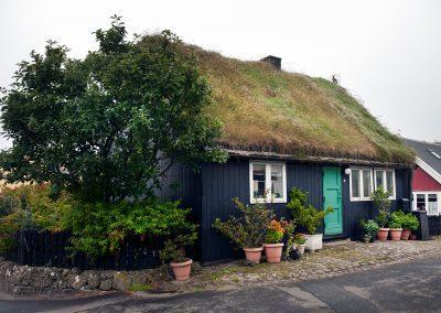 Smukt hus i Torshavn