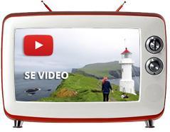 Ferie og rejser til Færøerne - video fra de smukke øer