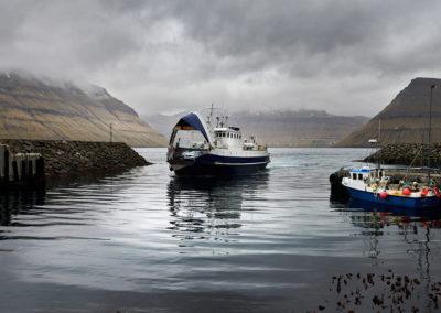 Færgen til Kalsoy på kør-selv ferie, bilferie og grupperejser med FÆRØERNEREJSER