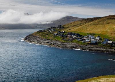 Leynar på Streymoy på kør-selv ferie, bilferie og grupperejser med FÆRØERNEREJSER