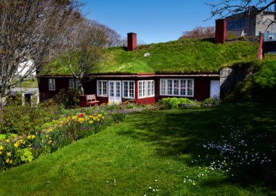 Frodig have i Torshavn på kør-selv ferie, bilferie og grupperejser med FÆRØERNEREJSER